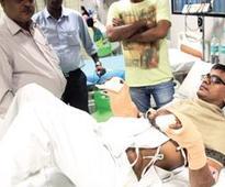Worker loses arm in railway workshop, g... Worker loses arm in railway workshop, gets it back in hospital