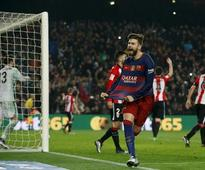 Copa del Rey: Barcelona enter semis, Celta Vigo oust Atletico
