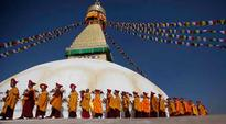 Nepal earthquake-hit Boudhanath stupa reopens