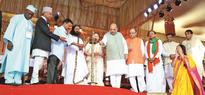 Fusion of culture marks glittering end to AOL fest