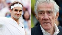 I'd like to be compared to Roger Federer, says the legendary Ken Rosewall