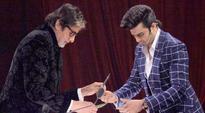Watch: Amitabh Bachchan cuts bhindi on the sets of Jhalak Dikhla Jaa season 9