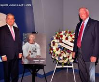 Gene Cernan, Last Man on the Moon, Honored at Kennedy Space Center Visitor Complex