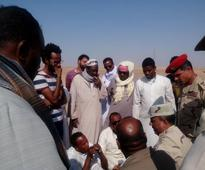 Field marshal Hussein Tantawi arrives in Aswan to negotiate Nubian crisis