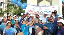 Walkathon marks breastfeeding week in Kerala