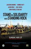 Standing Rock Benefit With Jackson Browne, Bonnie Raitt, Jason Mraz, Joel Rafael and John Trudell's Bad Dog To Be Broadcast Live On Standing Rock's KLND (89.5 FM)
