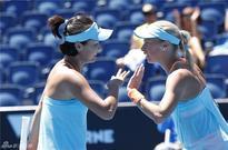 China's Peng Shuai cruises to Australian Open women's doubles quarterfinal
