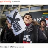 Donations pour in for SABC 8