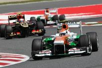 Di Resta Seventh In F1 Spanish Grand Prix
