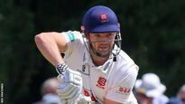 County Championship: Nick Browne's 116 not out gives Essex the edge at Derby