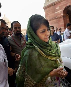 Win hearts of Kashmiris like Vajpayee did: Mehbooba to Modi