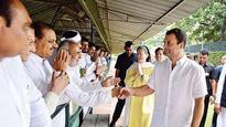 Remain united, fight for truth, Sonia, Rahul tell party MLAs