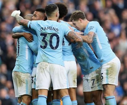 EPL PHOTOS: Man City continue winning streak, Tottenham edge past Palace