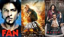 Airlift, Fan, Baaghi, Kapoor & Sons  Top 5 highest opening weekend grossers of 2016 so far!