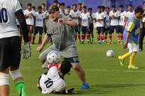I am here for football, says Maradona