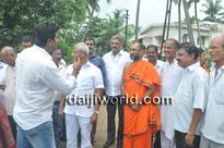 M'luru: Newly laid concrete road at Subrahmanya Math inaugurated