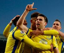 Seamus Coleman hits late Everton winner with Sam Allardyce still waiting for his first league win with Palace