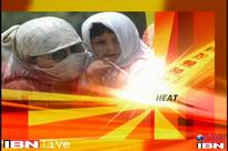 Heat wave across North India