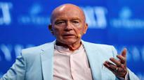 Mark Mobius sees India in middle of the bull market; Bitcoin in a bubble
