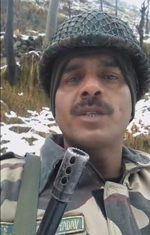 BSF jawan who complained about food sacked
