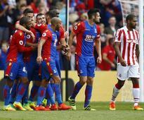 Crystal Palace hit four past struggling Stoke City