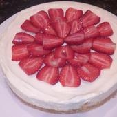 No Bake White Chocolate Cheesecake recipe
