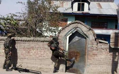Terrorists fire at police station in Shopian