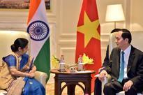 Sushma Swaraj calls on Vietnam President