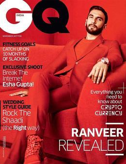 Men, would you dare to wear red like Ranveer?