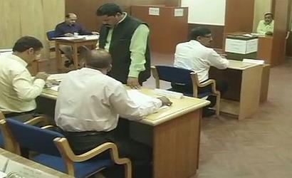 Chhattisgarh MLAs vote for 1 seat