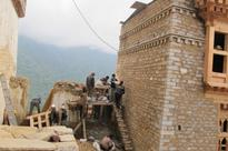 Daga dzong restoration work nears completion