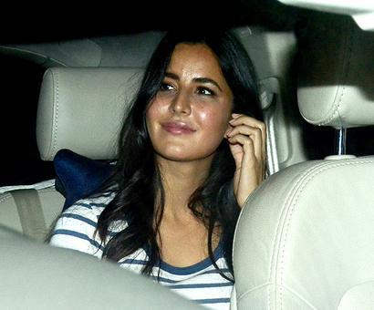 PIX: Katrina, Deepika watch Ittefaq