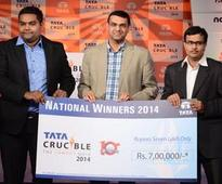 Kalinga Institute of Industrial Technology (KIIT) University, Bhubaneswar crowned international champions and ICAI, Bengaluru crowned national champions of Tata Crucible Campus Quiz 2014