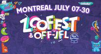 Zoofest Festival  July 7-30, various locations