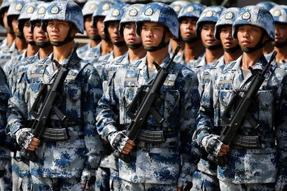 China to cut PLA troops by more than 50%