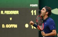 Gerry Weber Open: Federer ousts Goffin, sets semis clash with Zverev