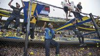 Over 200 Boca fans arrested after clashes