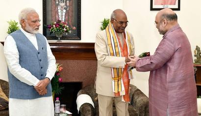 Cross-voting powers Kovind well past the halfway mark