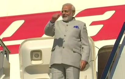 Modi leaves for Germany after wrapping up UK visit