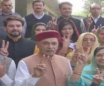 Himachal polls: Dhumal sure he'll be next CM; Modi asks people to cast vote