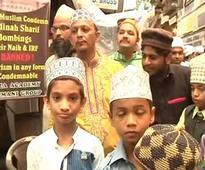 Muslim institution Raza Academy protests against controversial Islamic preacher Zakir Naik in Mumbai