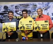 Trans-Himalayan solo cycling to raise awareness for child education