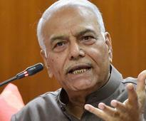 Yashwant Sinha urges Centre to begin dialogue on Kashmir