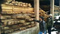 Timber worth lakhs seized at Bhadarwah, six booked