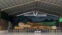 Bogor`s Sleeping Buddha Attracts Many Tourists