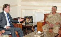 National Guard President receives UK Ambassador in the Kingdom of Bahrain