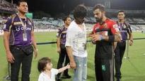 When Virat Kohli met SRK & his son AbRam