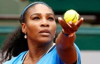 Serena marches on, tears for Tsonga