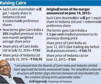 Vedanta sweetens Cairn India merger deal for shareholders