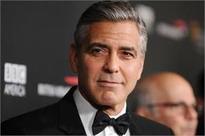 George Clooney is afraid of breaking his twins